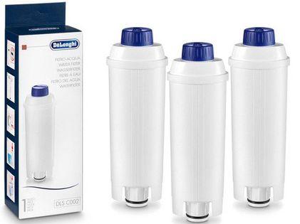 3 Filtry do ekspresu DeLonghi SER3017 DLS C002