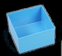 Pojemnik magazynowy, warsztatowy 108x108x63 mm. Niebieski