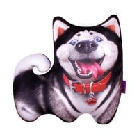 Relaksacyjna poduszka 3D na prezent - Pies Husky
