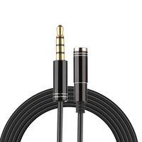 Kabel przedłużacz mini jack 3.5mm F-M 2m