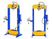 Prasa hydrauliczno-pneumatyczna - 50 t - 624 bar MSW MSW-WP-50T-P