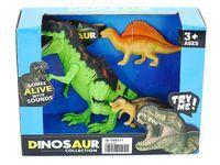 Dinozaury 3 sztuki w pudełku 525610