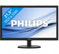 Monitor PHILIPS 21.5 223V5LHSB2/00 LED HDMI Czarny