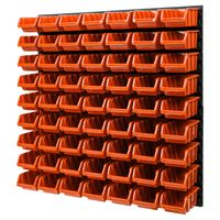 MIX100b Tablica ścianka narzędziowa do garażu z kuwetami