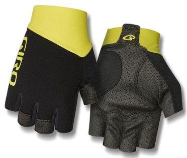 Rękawiczki męskie GIRO ZERO CS krótki palec citron green roz. XL (obwód dłoni 248-267 mm / dł. dłoni 200-210 mm) (NEW)