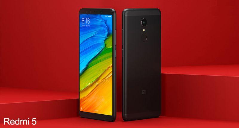 Xiaomi Redmi 5 3/32GB Czarny EU LTE na Arena.pl