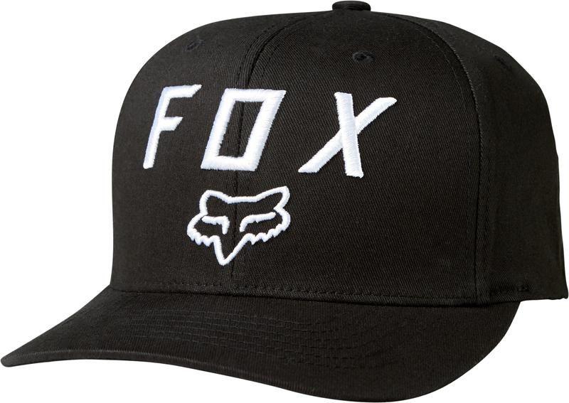 CZAPKA Z DASZKIEM FOX LEGACY MOTH 110 BLACK OS