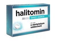 Halitomin tabletki do ssania świeży oddech 30 sztuk