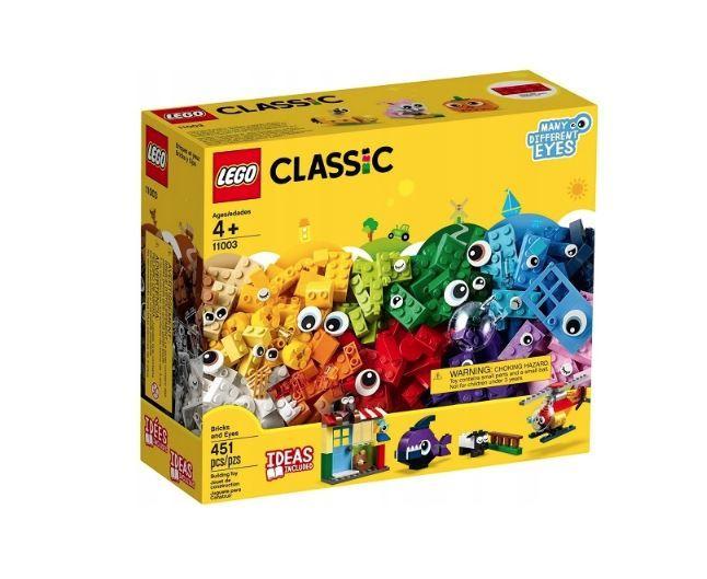 LEGO CLASSIC Klocki - buźki 11003 zdjęcie 1