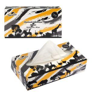 Chusteczki higieniczne 2-warstwowe box 100 szt. Travella