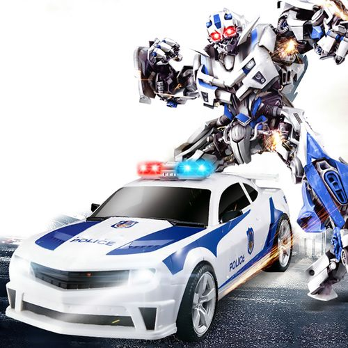 Transformers auto policja robot sterowany pilotem RC Y170 na Arena.pl