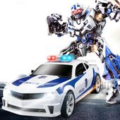 Transformers auto policja robot sterowany pilotem RC Y170 zdjęcie 9
