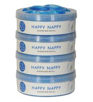 Wkład Happy Nappy do Tommee Tippee Sangenic, Sangenic TEC, Twist & Click  4-Pak