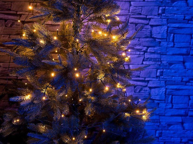 Lampki choinkowe białe LED 10 m Lunartec zdjęcie 5