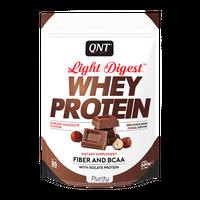 QNT - Light Digest Whey Protein - 500 g czekoladowo-orzechowy