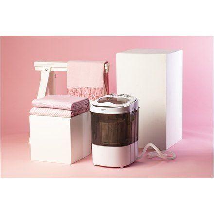 Camry Mini Washing Machine Cr 8054 Top Loading, Washing Capacity 3 Kg, Depth 37 Cm, Width 36 Cm, White/gray, Semi-Automatic na Arena.pl
