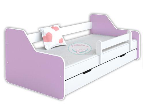 Łóżko dla dzieci DIONE II 160x80 - lawendowe na Arena.pl