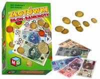 ZŁOTÓWKI Pieniądze do Zabawy BILON Banknoty