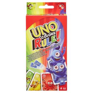 Mattel UNO gra karciana kolory rządzą