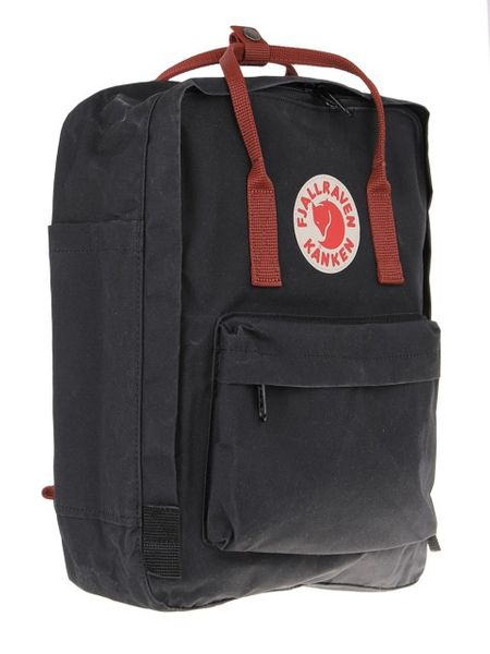 Plecak KANKEN FJALLRAVEN Black-Ox Red F23510-550-326 zdjęcie 3
