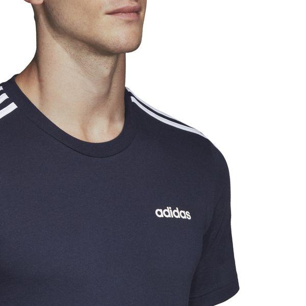Koszulka adidas Essentials 3 Stripes Tee granatowa DU0440 XL zdjęcie 3