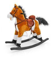 Koń na biegunach Mustang jasny brąz