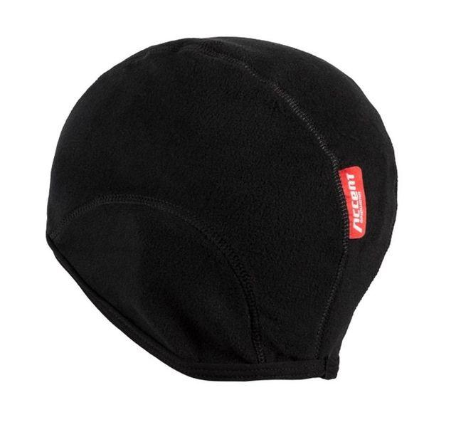 Czapka kolarska Fleece czarna - r. L/XL zdjęcie 2