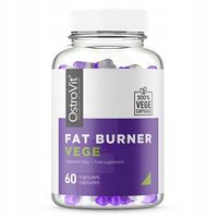 OstroVit Fat Burner VEGE 60 vcaps SPALACZ TŁUSZCZU