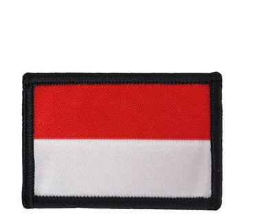 FLAGA NASZYWKA NA RZEP TEKSTYLNA TEXAR 5,5 X 3,5 CM