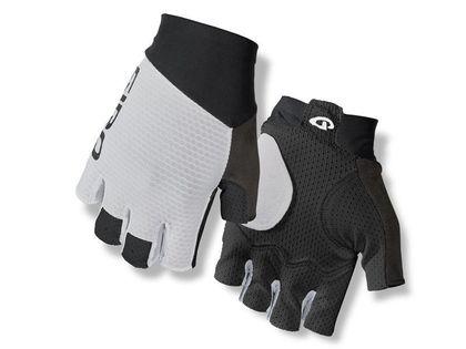 Rękawiczki męskie GIRO ZERO CS krótki palec white roz. XXL (obwód dłoni od 267 mm / dł. dłoni od 211 mm) (NEW)