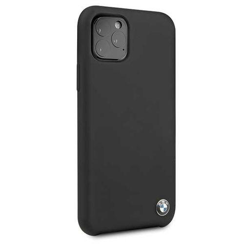 Etui hardcase BMW BMHCN58SILBK iPhone 11 Pro czarny/black Silicone na Arena.pl