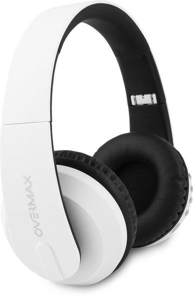 Słuchawki Bezprzewodowe Białe MP3 BT OVERMAX SOUNDBOOST 2.2 zdjęcie 2