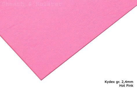 Kydex Hot Pink - 150x200mm gr. 2,4mm