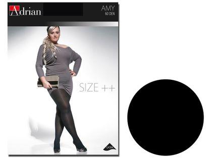 Rajstopy Amy Adrian 60 den size plus 7 Nero