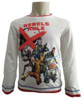 T-Shirt Star Wars r128 Licencja Disney LucasFilm (PH1138 White 8Y)