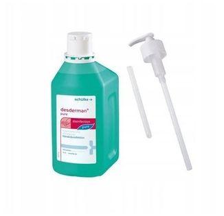 Schulke Desderman Pure płyn do dezynfekcji rąk 500 ml z pompką