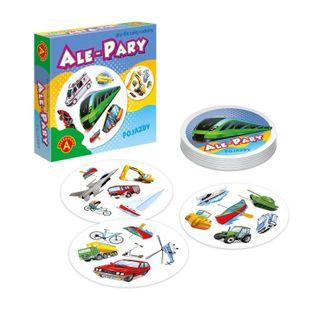 Ale pary Pojazdy mała gra podróżna p18