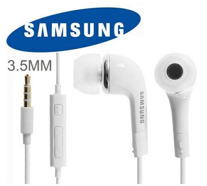 Oryg. słuchawki z mikrofonem SAMSUNG EHS64 białe zdjęcie 10