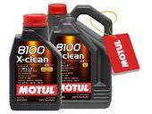 MOTUL 8100 X-CLEAN 5W40 C3 505/505 01 6L +GRATIS