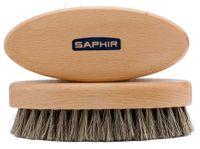 SAPHIR BRUSH Owalna szczotka do butów KOŃSKIE WŁOSIE