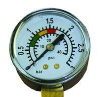"""Ciśnieniomierz 1/8"""" + podłączenie boczne"""
