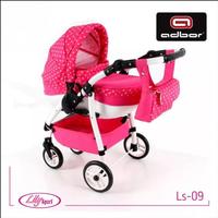 ADBOR Wózek lalkowy LILY SPORT kolor 09 dla lalek Skrętne koła