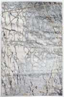STYLISH PROSTOKaT 07 L.GREY/GOLD 120 X 170 MIX