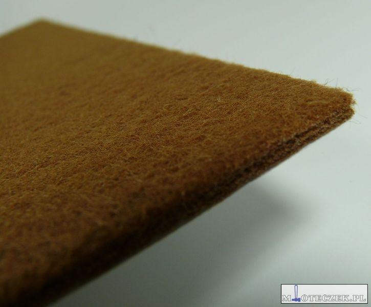 Arkusz filcu podkładki pod meble 200x150mm brąz zdjęcie 4