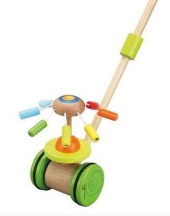 Zabawka do pchania na patyku - pchajka Karuzela
