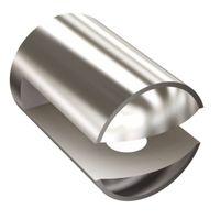 Uchwyt półki szklanej 8 mm chrom CLASSIC Andex