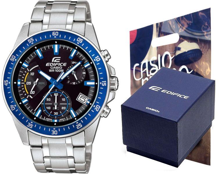 Zegarek Casio EDIFICE EFV-540D-1A2 10BAR hologram zdjęcie 1