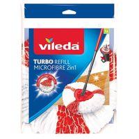 VILEDA Turbo Refill Microfibre 2w1 - mop obrotowy