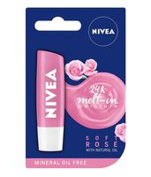Nivea Soft Rose (Różana) Pielęgnacyjna Pomadka do Ust 5,5ml - Soft Rose