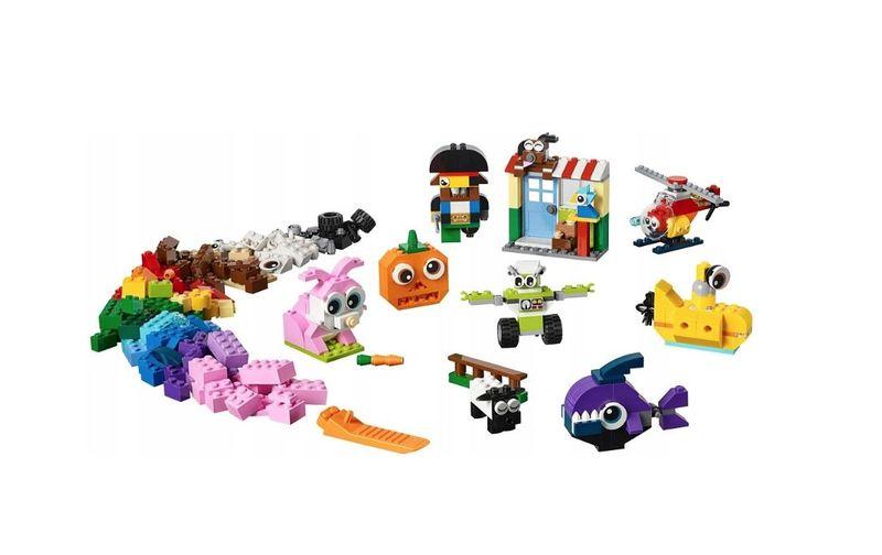 LEGO CLASSIC Klocki - buźki 11003 zdjęcie 4